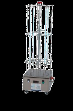 Totem traitement surface UVGERMI® - ATEau / assistance technique